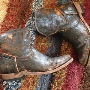 Cowboy Couture Ankle Boots